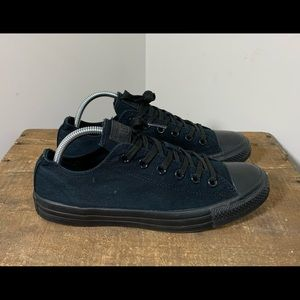 Converse Black Low All Star Chuck Taylor Sneakers